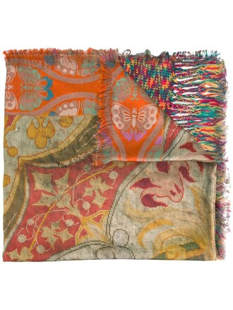 printed scarf women scarf silk