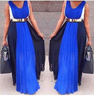dress maxi maxi occasion colour block