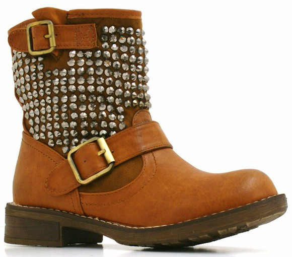 studs boots ankleboots