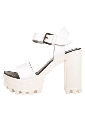uk availability 1b340 faa9d Shoe The Bear COCO - Sandalen met plateauzool - white - Zalando.nl