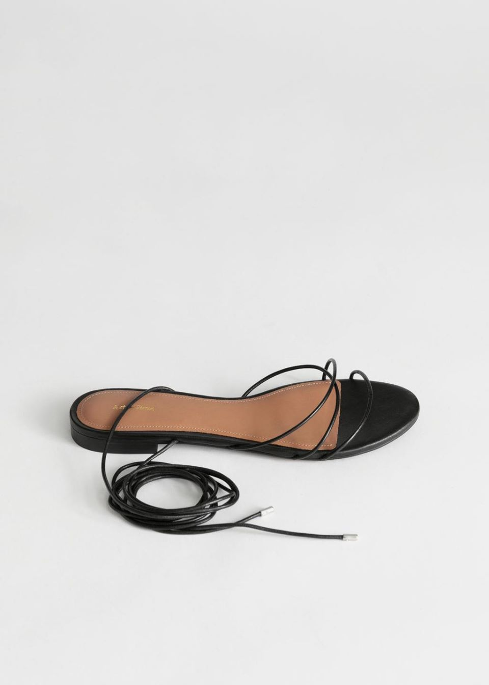 Leather Lace Up Sandals
