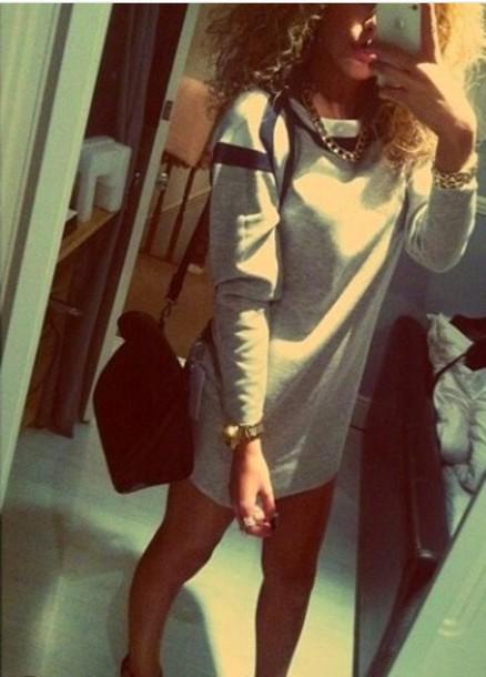 sweater sweater dress long sweater grey and black sweater grey sweater dress grey sweater