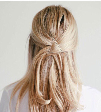 hair accessory minimalist hair inspiration clip hair clip