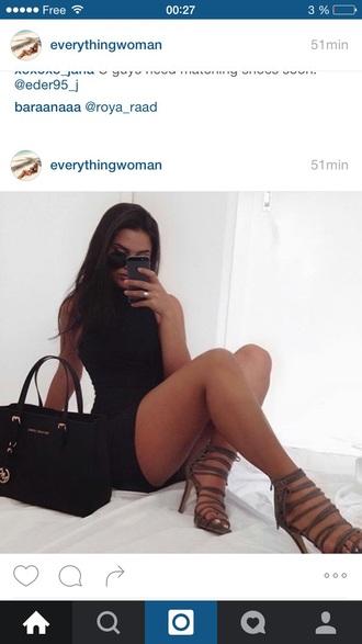 dress black dress instagram everyday dress women sassy sexy dress