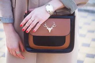 bag purse deer fashion hipster