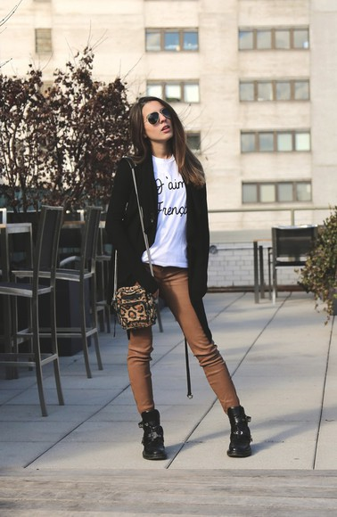 sweater shoes sarah co mode ton look t-shirt pants