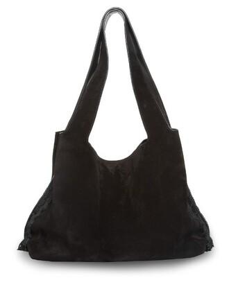 bag suede bag suede black