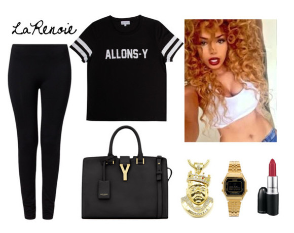 shirt yves saint laurent polyvore clothes polyvore sets