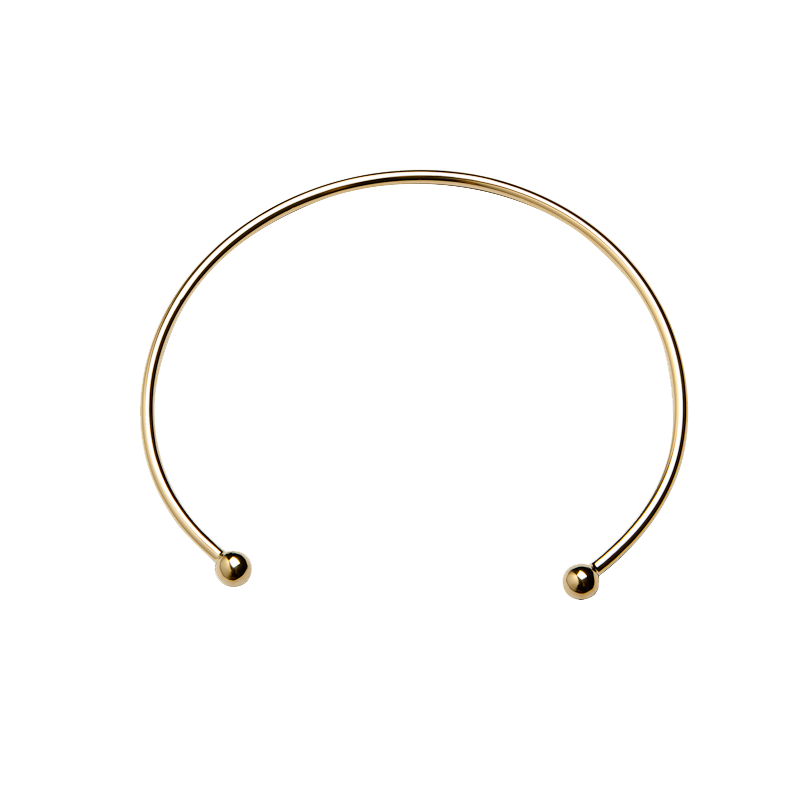 Ball Choker - Neck - Brass Collection