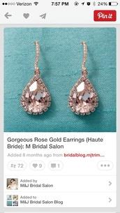 jewels,rose gold