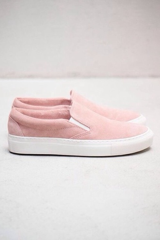 shoes vans cute tumblr pastel pastel pink pink vans sneakers slip on shoes fashion blogger blogger pink shoes suede shoes pastel sneakers sweater blue undefeeted jumper