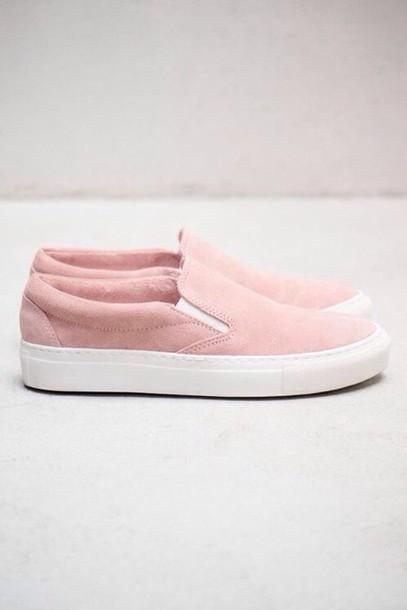 Vans Pastel Pink Shoes Vans Cute Tumblr Pastel