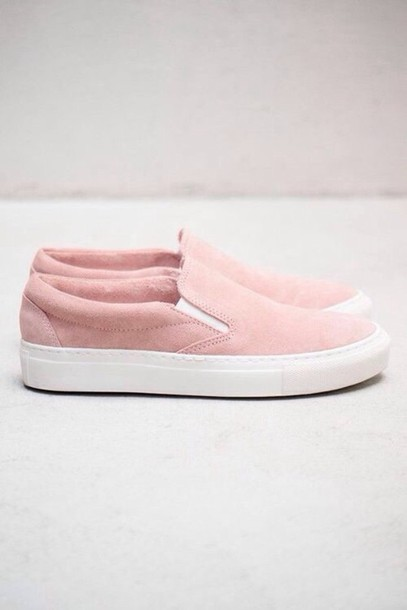 Shoes Vans Cute Tumblr Pastel Pastel Pink Pink Vans