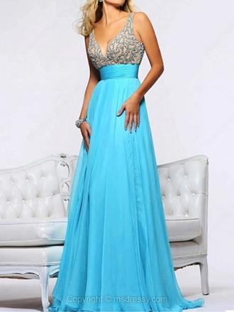 dress prom dress evening dress evening gown turquoise turquoise dress blue dress blue beaded beaded dress beading beading prom dress beaded prom dress floor length dress classy