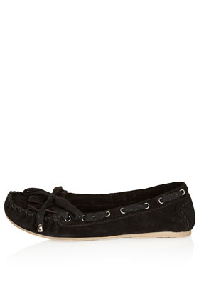 Missouri suede moccasin shoes