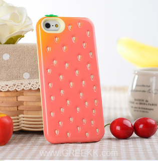 Strawberries case for iPhone5S