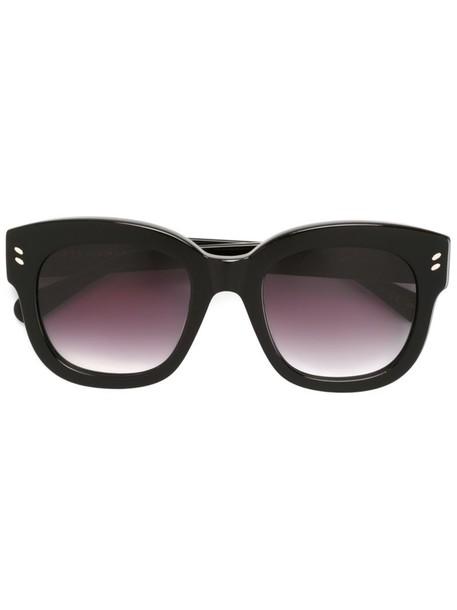 Stella Mccartney Eyewear - square frame sunglasses - women - Acetate - One Size, Black, Acetate