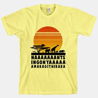 circle of life lionking lion king t-shirt hakuna matata yellow all colors