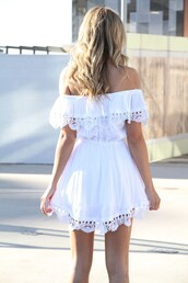 dress,summer,boho,bohemian,vintage,hipster,cute,girly,hair,quote on it,vogue,chanel,harajuku,style,white,black,lovely,streetwear,beach