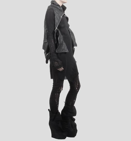shoes wedge boots high futuristic platform shoes