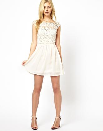 dress boho dress lace crochet
