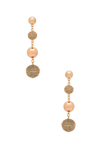 statement metallic copper jewels