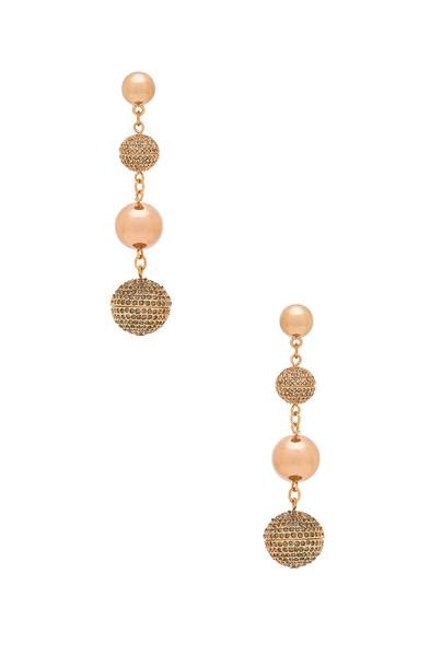 Rebecca Minkoff statement metallic copper jewels