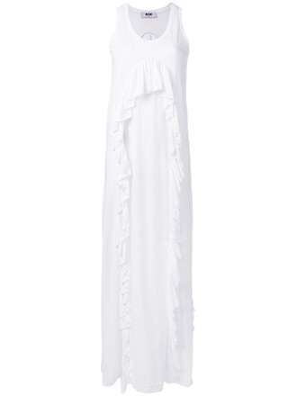 dress maxi dress maxi women white cotton
