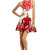 Red Rococo Print Dress by Tibi at $75 | Rent The Runway
