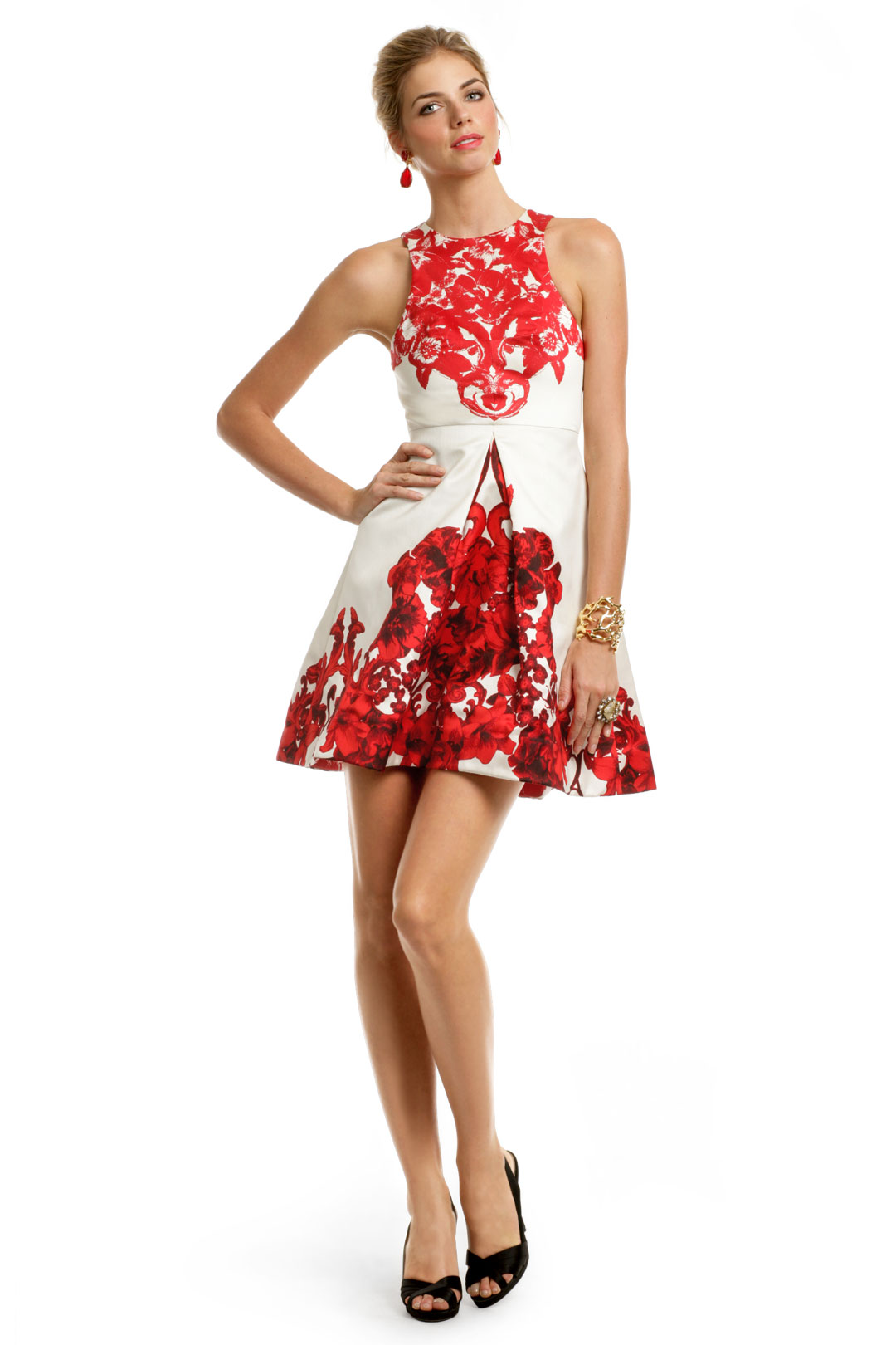 3ff9a45665 Red Rococo Print Dress by Tibi at $75 | Rent The Runway