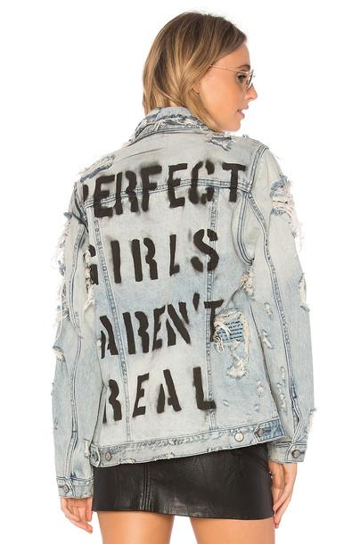 PRPS Goods & Co jacket denim jacket denim love