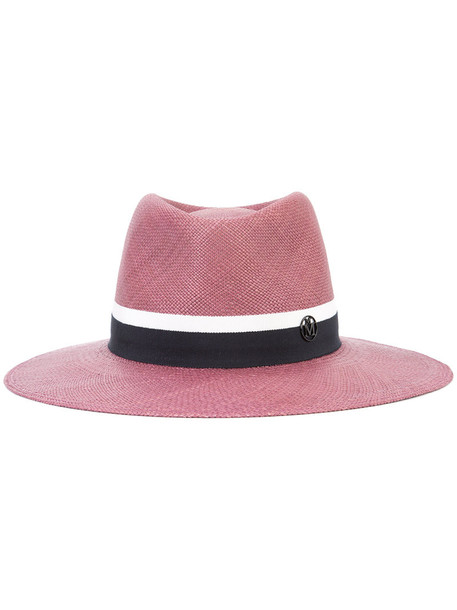 women hat purple pink