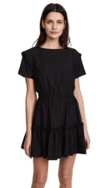 alice + olivia dress black