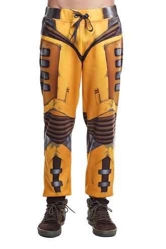 pants print printed joggers sportswear streetwear printed pants yellow orange black and yellow streetstyle