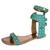 Rasteira Orcade Isabel Gladiadora Tachas Verde - Compre Agora | Dafiti
