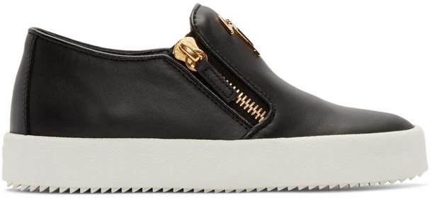 Giuseppe Zanotti london sneakers black shoes