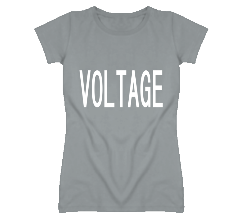 Voltage Popular Funny Celebrity Sport Heather Grey T Shirt