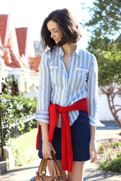 striped shirt shirt