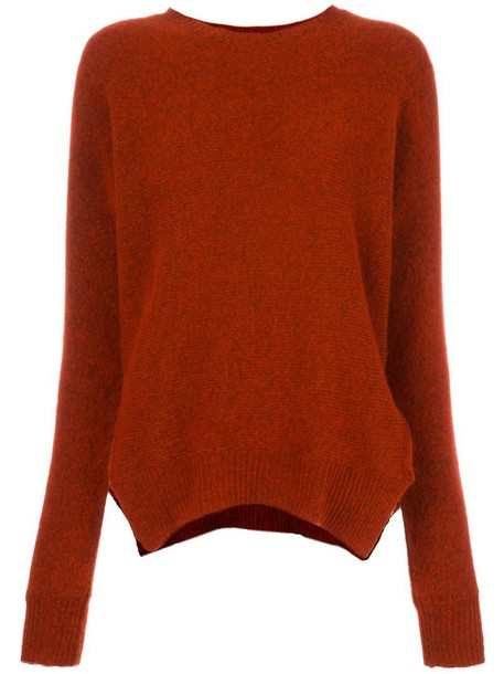 jumper oversized women wool red sweater 52d13f9c6