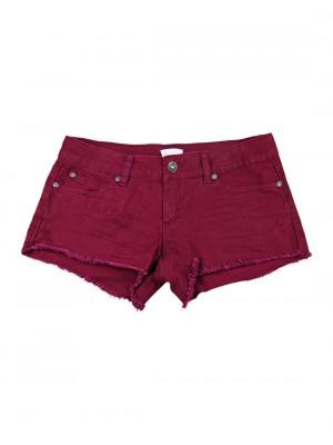 cutoff denim shorts - Denim