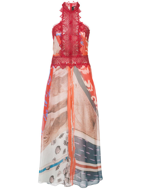 Yigal Azrouel dress women print red