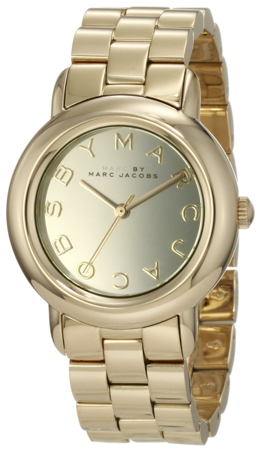 Plated ladies watch mbm3098: marc jacobs: watches
