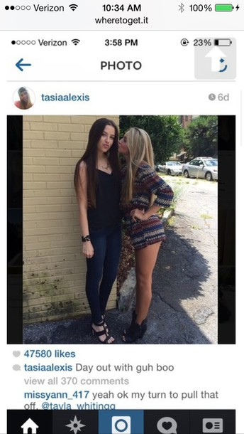 Tasia from is where alexis Why Did
