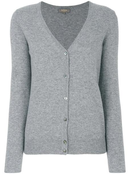 N.Peal cardigan cardigan women grey sweater
