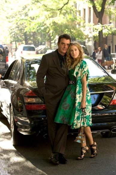 carrie bradshaw dress belt shoes bag eiffel tower long coat