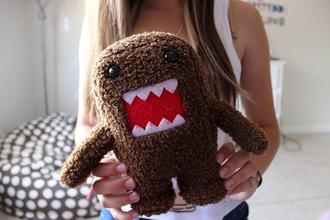 jewels domo tumblr teddy bear bear monster rawr cute