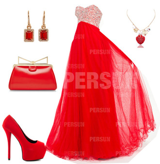 dress prom dress prom fashion outfit student jewels shoes
