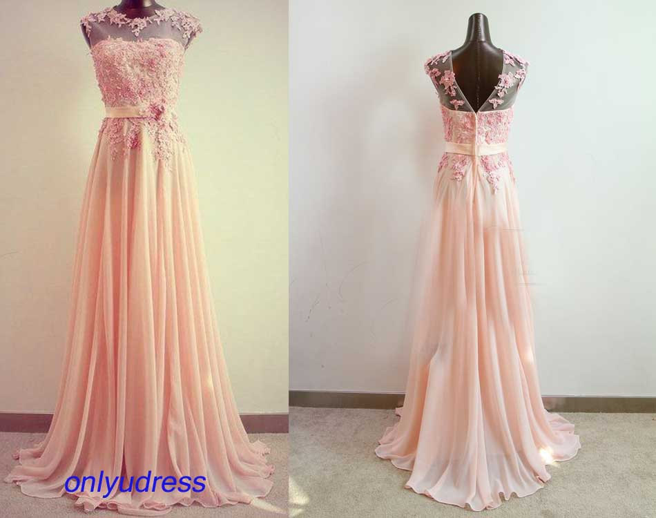 Blush prom dresses prom dresses on sale custom made prom for Blush wedding dress for sale