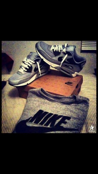 shoes nike grey