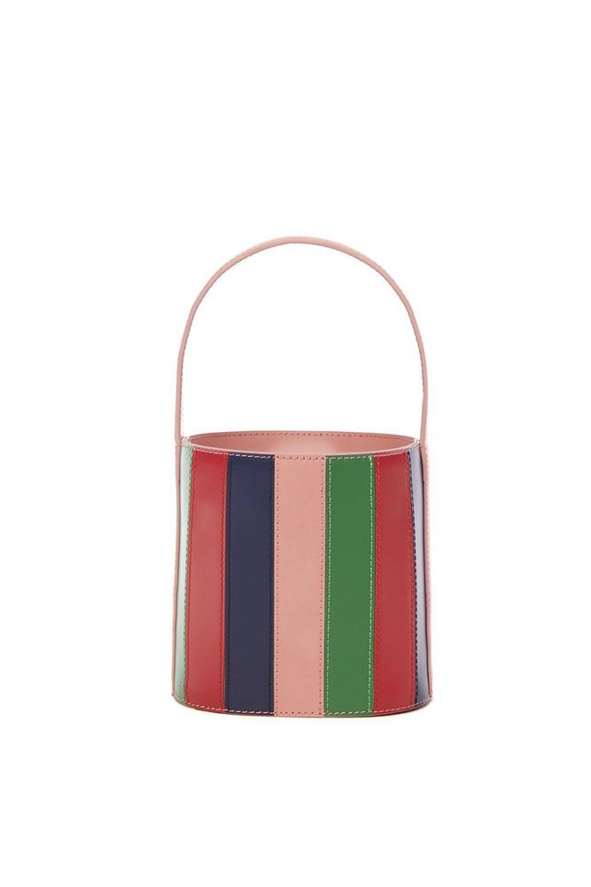 Staud Bissett Bag | Petal Stripe